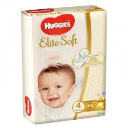 Scutece Huggies Elite Soft Nr 4 (66 buc) 8-14 kg