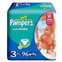 Scutece Pampers Active Baby Midi Nr 3 96buc