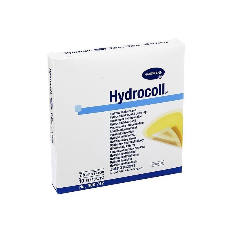Pansament escara cu hidrocoloid Hydrocoll 7.5x7.5cm 10buc
