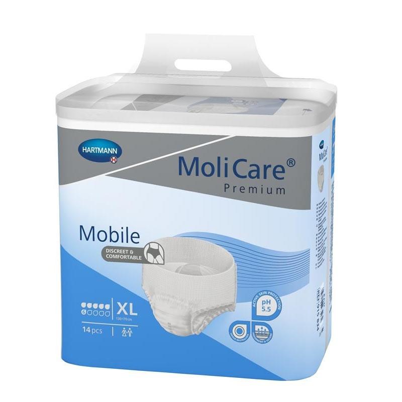 Chilot incontinenta severa MoliCare Mobile XL Hartmann 14 buc