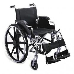 Scaun cu rotile fotoliu rulant pliabil structura otel RX190
