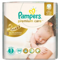 Scutece Pampers Premium Care Nr 1 78 buc 2-5kg