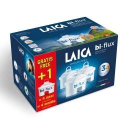 Cartuse filtrante Laica Bi-Flux 3buc+1 gratis