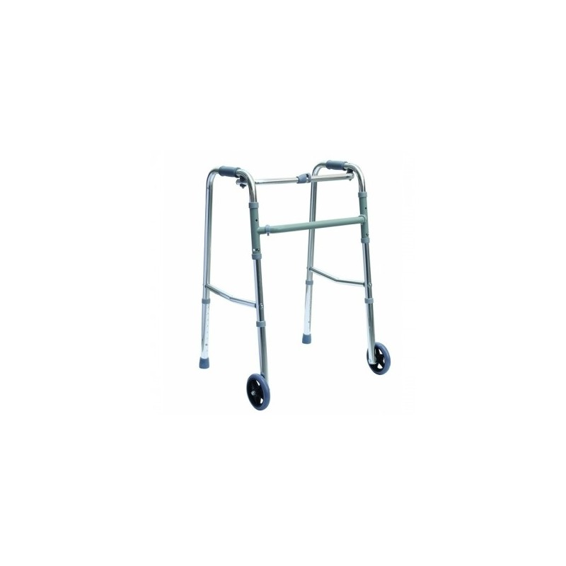 Cadru ortopedic pliabil cu rotile reglabil 80 - 96 cm RX492
