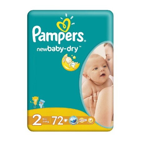 Scutece Pampers New Baby Mini Nr 2 72buc