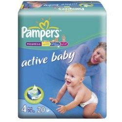 Active Baby Maxi Pampers Nr 4 20buc