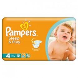 Scutece Pampers Sleep and Play Nr 4 50buc