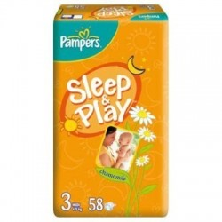 Scutece Pampers Sleep and Play Nr 3 58buc