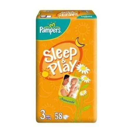 Scutece Pampers Sleep and Play Nr 3 58buc