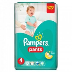 Chiloti Pampers Active Baby Pants 4 (9- 14 kg) 52 buc