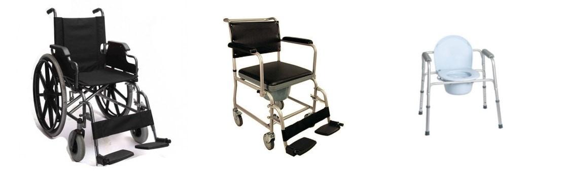 Fotolii rulante si scaune cu olita Wc